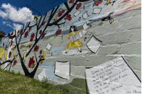 Murales en  barrio Unión y Villa Española