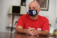Reunión Marcelo Signorelli, Jorge Carril y Andrés Abt