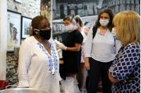 Visita de la Intendenta a la Olla popular en la Asociación Cultural Cuareim 1080