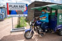Intendenta recorre obras por plan ABC