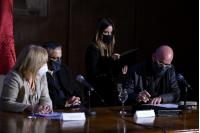 Firma de convenio con Facultad de Arquitectura, Diseño y Urbanismo (FADU)