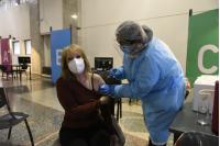 Vacunación contra la gripe de la Intendenta