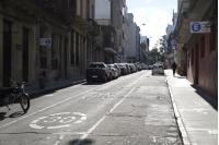 Bicicircuito Montevideo. Calle Alzáibar