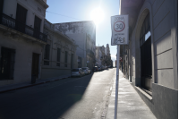 Bicicircuito Montevideo. Calle Bartolomé Mitre