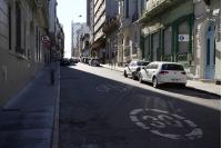 Bicicircuito Montevideo. Calle Juan C. Gómez
