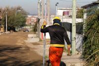 Comienzo de obras en el barrio 19 de Abril en el marco del Plan ABC
