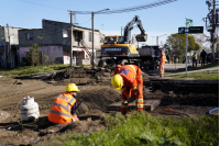 Reparación de la calle Etiopía en el marco del Plan ABC