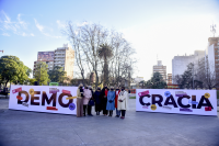 Lanzamiento de la campaña Democracia Paritaria