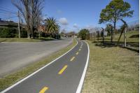Bicicircuito Montevideo. Bicisenda Córcega