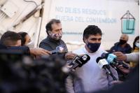 Entrega de camión recolector en préstamo a Intendencia de Salto