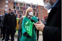 """Lanzamiento de espacios públicos libres de residuos por programa """"Montevideo más verde"""""""