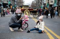 Día de la Niñez en Paseo peatonal Av. 18 de Julio