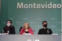 """Intendenta de Montevideo Carolina Cosse presenta proyecto """"Ciudad Vieja late"""""""
