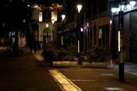 Iluminación de la Peatonal Sarandí por Mes de la Diversidad