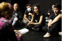 Ensayo abierto de Murga Joven en la Sala Lazaroff