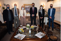 Intendenta de Montevideo Carolina Cosse visita la Expo Prado