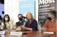 """Lanzamiento del Festival Internacional de Cine del Vino """" MOST - Vino al Sur """" en el Museo de la Uva y El Vino"""