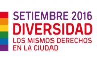 Setiembre, Mes de la Diversidad 2016 - Los mismos derechos en la ciudad