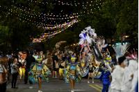 Imperio Preto E Branco en el Desfile de Escuelas de Samba
