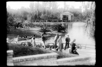 Inauguración del Pabellón de la Música. Parque Rodó. Año 1931