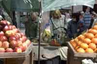 Feria de frutas y verduras