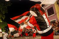 Desfile de llamadas en la calle Isla de Flores. Año 2010.