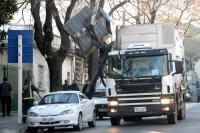 Camion recolector de residuos