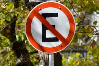 Estacionamiento prohibido