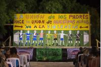 """Tablado Club Holanda, Escenario Lucho """"El Tío"""" Súarez / Barrio Casabó"""