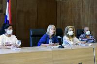 Conferencia de prensa anuncio medidas por celebración Yemanjá