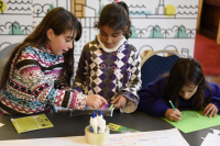 Taller de niños y niñas: imaginar el Montevideo del futuro