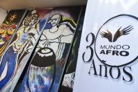 Firma de convenio con Mundo Afro para apoyar la construcción de viviendas de interés social.