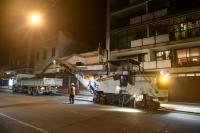 Obras de vialidad calle Mercedes