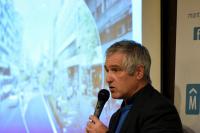 Presentacion del proyecto de renovacion de la avenida 18 de julio.