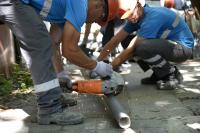 Reparación de refugios peatonales