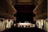"""Presentación de la obra """"Solo una actriz de teatro"""" en el marco del aniversario de la EMAD, Sala Verdi."""