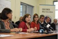 Conferencia de prensa de la mesa interinstitucional de calle