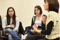Programa de voluntariado en Comuna Mujer