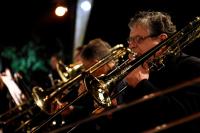 Presentacion de Son del Caribe de la Banda Sinfonica de Montevideo, en el Anfiteatro Canario Luna.