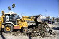 Limpieza de predio en Bvar Batlle y Ordoñez y Canstatt