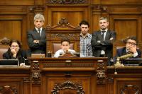 Parlamento de niños, niñas y adolescentes.