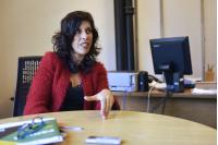 Tania Aguerrebere, referente técnica de accesibilidad.