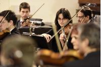 Concierto de la Orquesta Filarmonica en la Parroquia Santa Maria de la Ayuda.