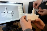 Proceso de construcción de la maqueta de Ciudad Vieja