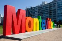 Pintada del cartel Montevideo
