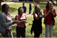 Dia de recreacion jovenes en CAMBADU