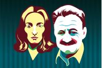 Idea Vilariño y Mario Benedetti