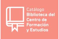 Catálogo Biblioteca del Centro de Formación y Estudios