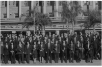 Elenco de la Banda Sinfónica de Montevideo en los años 90