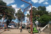 Obras del Centro Deportivo, Recreativo y Cultural en Peñarol